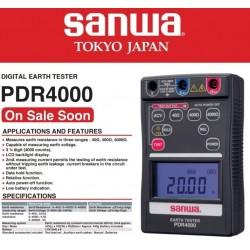 Telurometro Digital 4000 Ohmios Sanwa